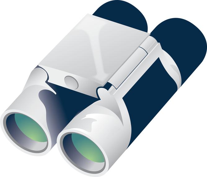 Free Binoculars Vector