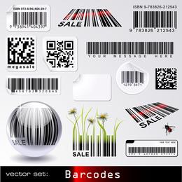 Barcode Theme Vector