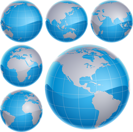 Free 3d Vector Globes