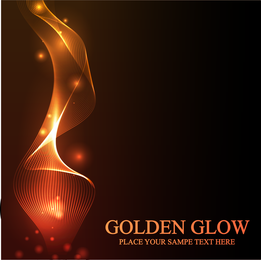 Stunning Golden Light Vector