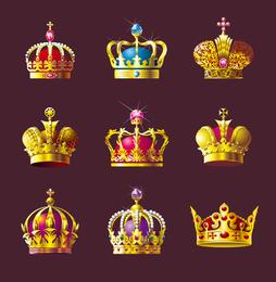 Coroa vector conjunto
