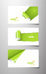 Beautiful Card Template 05 Vector