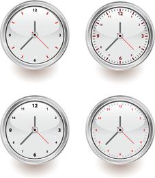 Vector conjunto de relógios