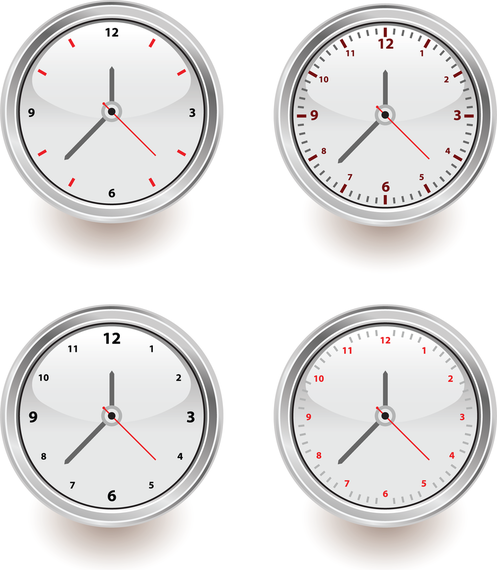 Vector Set Of Clocks