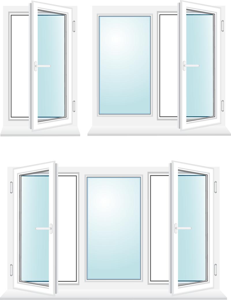 Plastic Windows Vector Vector Download