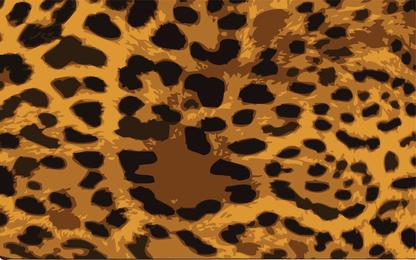 Leopard-Haut-Vektor