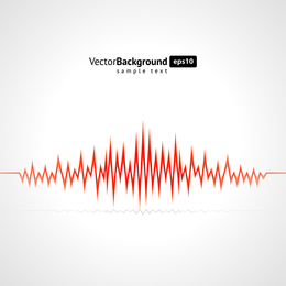 Dynamic Audio Waves 05 Vector