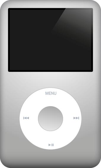 Apple Ipod Classic Vector