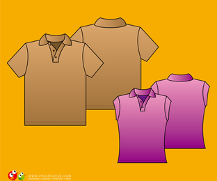 Camisa polo simples