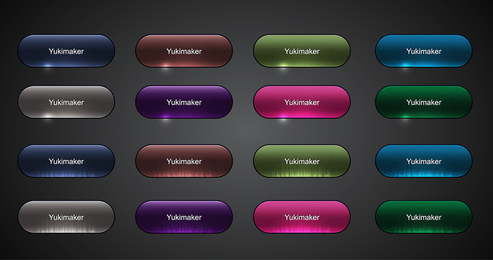 Crystal Texture Button Vector