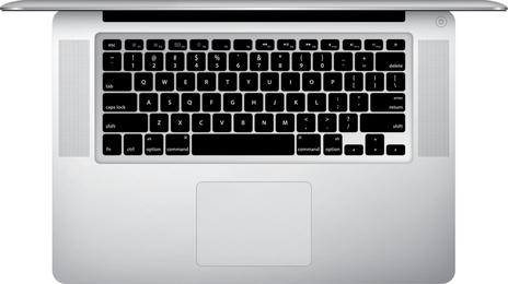 Macbook Pro Top View Free Vector