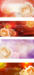 White Roses Vector Dream
