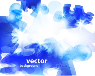 Rompecabezas Brillante Halo 01 Vector