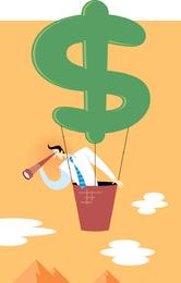Ilustrador Vector Implicación Financiera