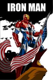 Archivos de fuente de vectores de Iron Man