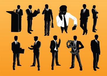 Vectores de hombre de negocios