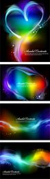 Vector de efectos de humo colorido