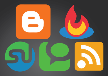 Logos de redes sociales
