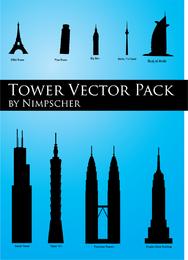 Paquete de vectores de rascacielos