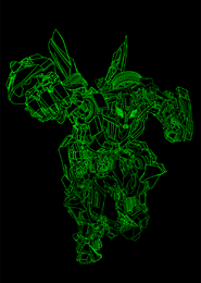 Dibujo de línea vectorial risita Hornet