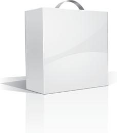 White Packing Model 01 Vector
