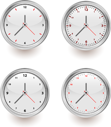 Tipo simple de vector de reloj