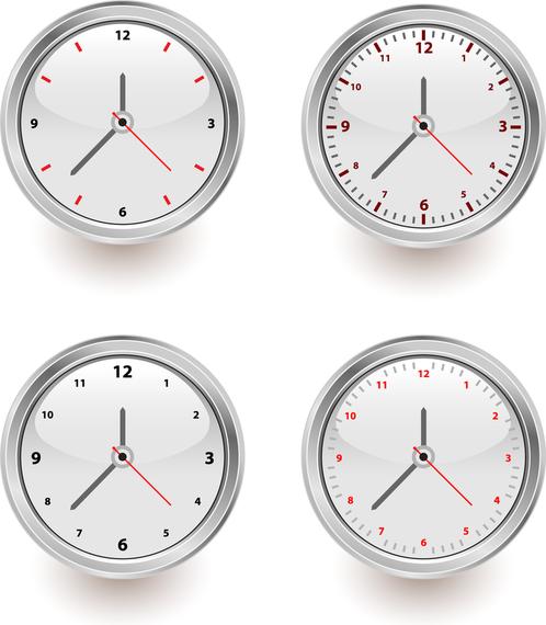 Simple Type Of Watch Vector