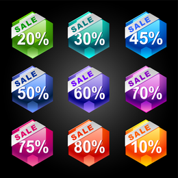 Behind The Discount Label 03 Vector