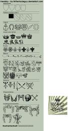 Diseños heráldicos vectoriales.