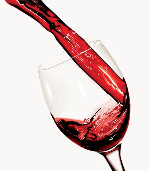 Pour Wine Moment Vector