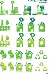 Ökologievektor Set1 2