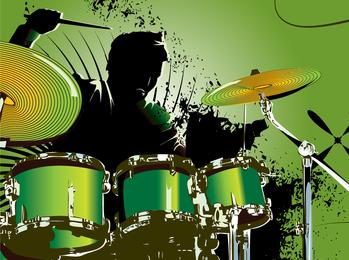 Fine Drum 03 Vector