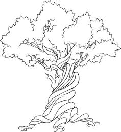 Diseño del árbol de la tierra