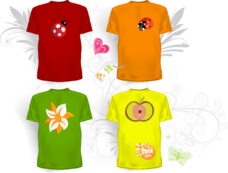 Clothes Templates 05 Vector - Vector download
