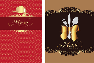 Restaurant Menu 01 Vector