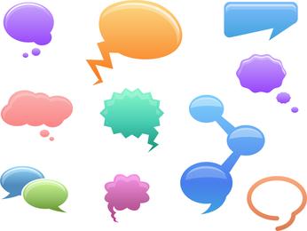 Signo de burbuja de diálogo Qvector