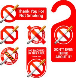 Vector de fumar bien