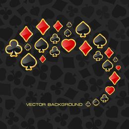 Poker Theme Vector Graphic