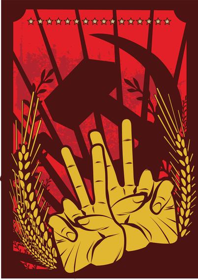 Red Revolution Illustrator Vector
