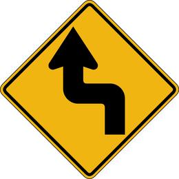 Placa de sinal Vector 561