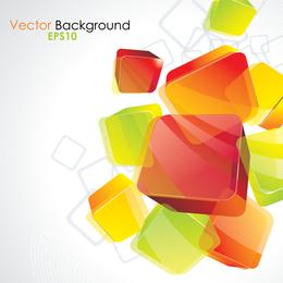 Textura cristalina de los elementos del vector