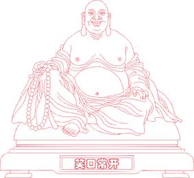 Rindo Buda Vector