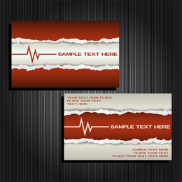 Card Template Vector 3