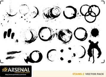 Gomedia produce tinta tinta marca vector