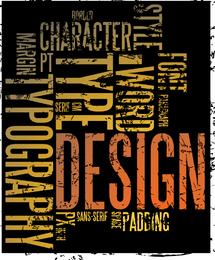 Letter Plate Design 02 Vector