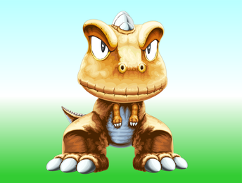 Cómic Japonés Pequeño Dinosaurio Argonne
