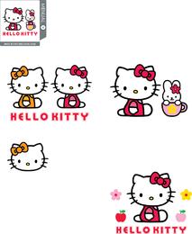 Conjunto de vetores de Hello Kitty