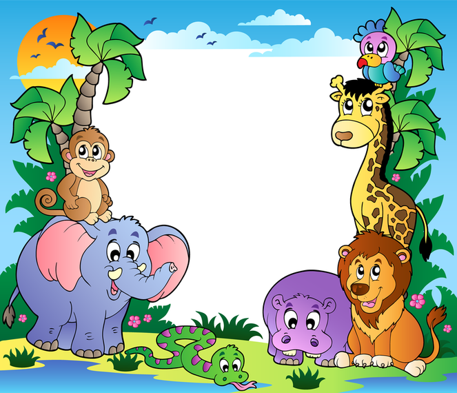 Cute Animal Images Vector