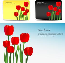 Vetor de tulipa 2