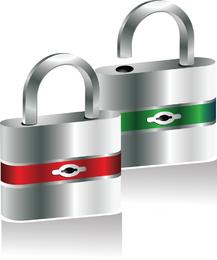 3d Padlock Security Vector Security Photoshop Vector Illustrator Padlock Design Photoshop Tutorial Illustrator Ai